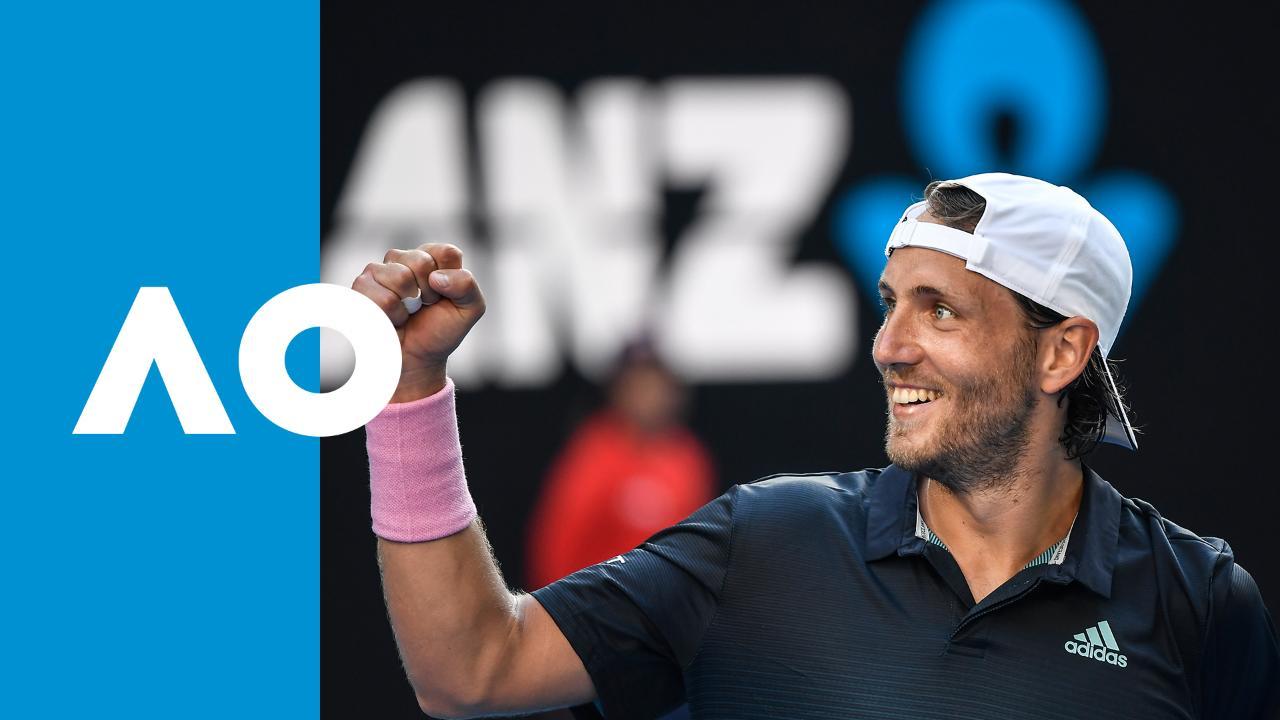 Milos Raonic v Lucas Pouille match highlights (QF)
