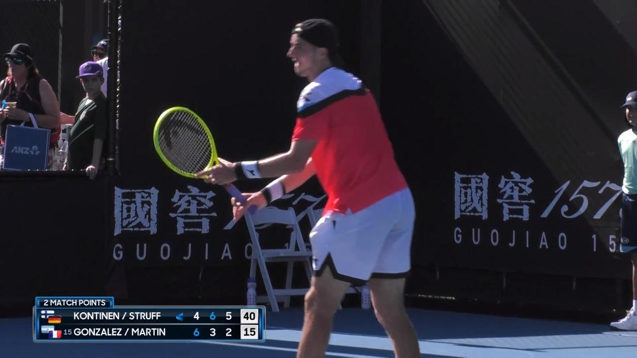 Kontinen/Struff v Gonzalez/Martin Match Highlights (2R)   Australian Open 2020