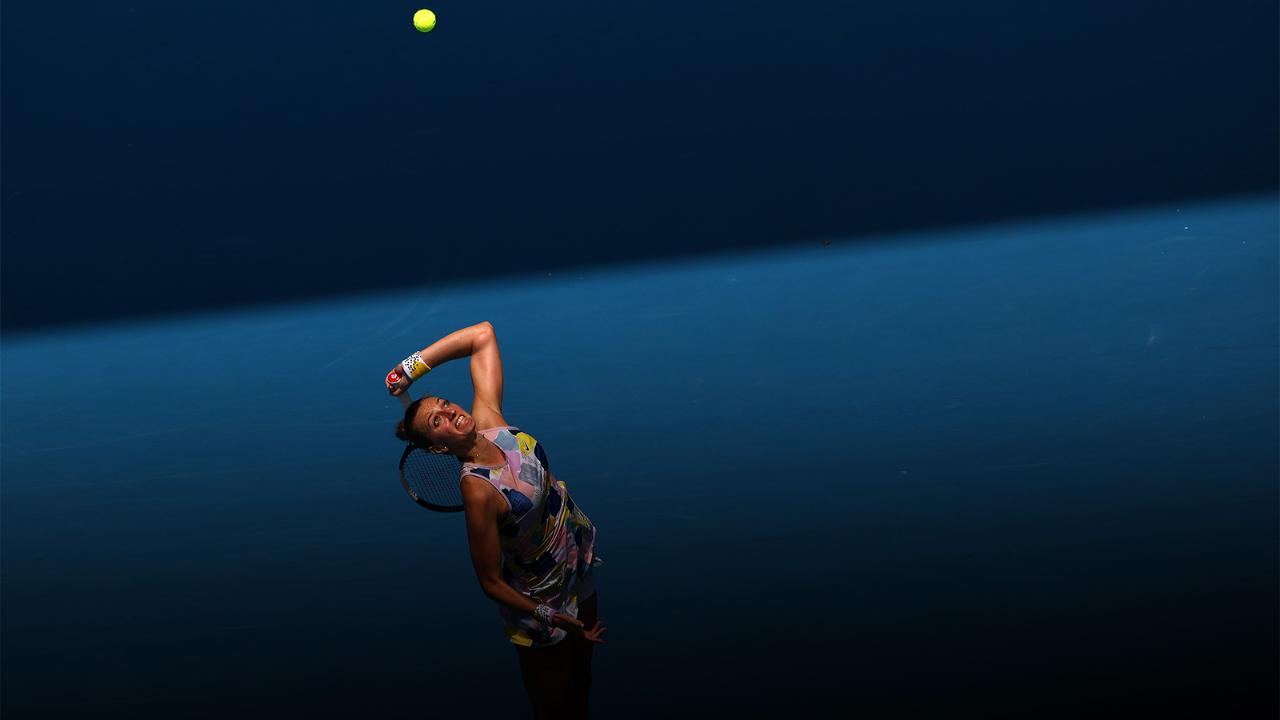 Maria Sakkari vs. Petra Kvitova - Match Highlights (R4) | Australian Open 2020