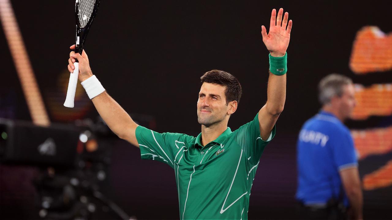 Milos Raonic vs. Novak Djokovic - Match Highlights (QF) | Australian Open 2020