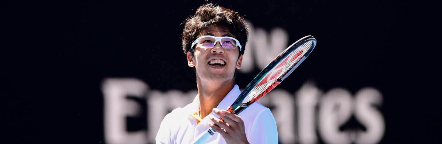 Hyeon Chung has made big headlines in his homeland