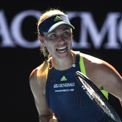 Angelique Kerber set up a third-round meeting with Maria Sharapova