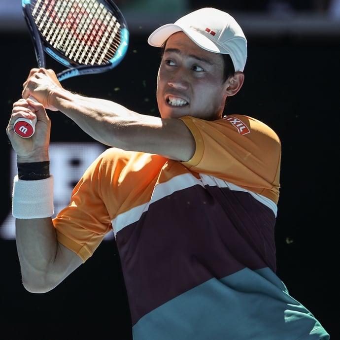 Nishikori defeats Sousa to reach last 16 in Australian Open
